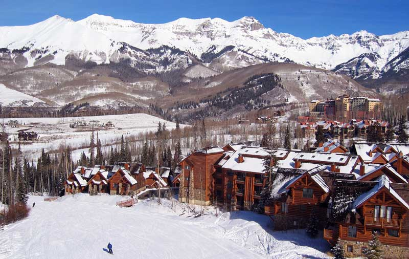 The Mountain Lodge at Telluride: Adjoining ski-in-ski-out condo partnership/exchange opportunity